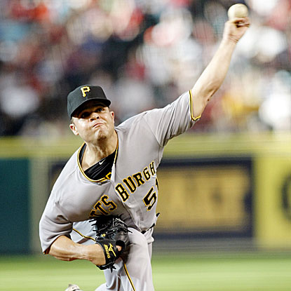 The Pirates' Wandy Rodriguez returns to Houston to face his old team, throwing six innings in a no decision. (US Presswire)