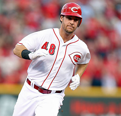 Ryan Ludwick is productive for the Reds as he finishes with 4 RBI and a home run in the win. (Getty Images)
