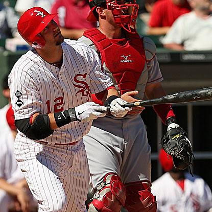 A.J. Pierzynski ties a White Sox record by hitting a home run in his fifth consecutive game. (Getty Images)