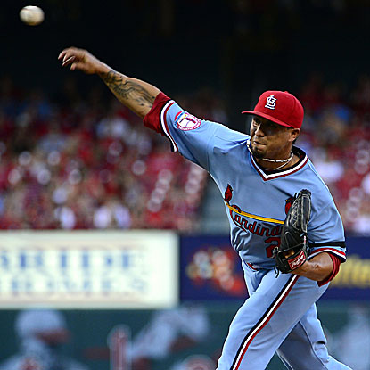 The Cardinals' Kyle Lohse defeats the Brewers to win his sixth consecutive start and improve to 12-2 on the year. (US Presswire)