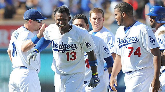 Hanley Ramirez is one of five major pieces the Dodgers added during trading season. (US Presswire)