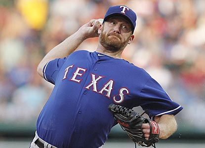 Ryan Dempster now has an American League victory to go along with the 117 he earned in the National League.  (AP)