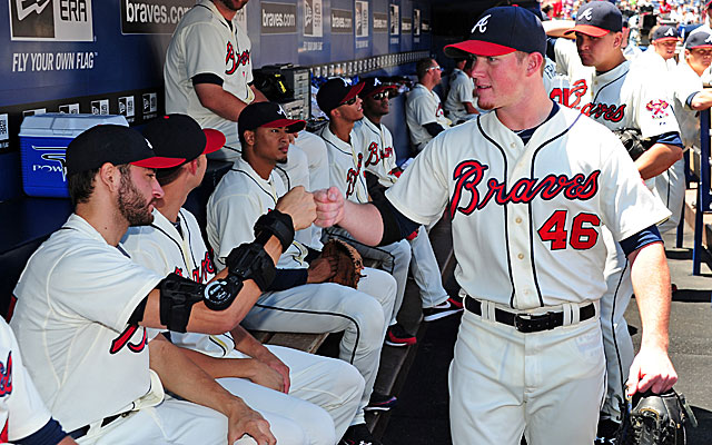 Craig Kimbrel's teammates aren't the only ones hip to his accomplishments. (Getty Images)