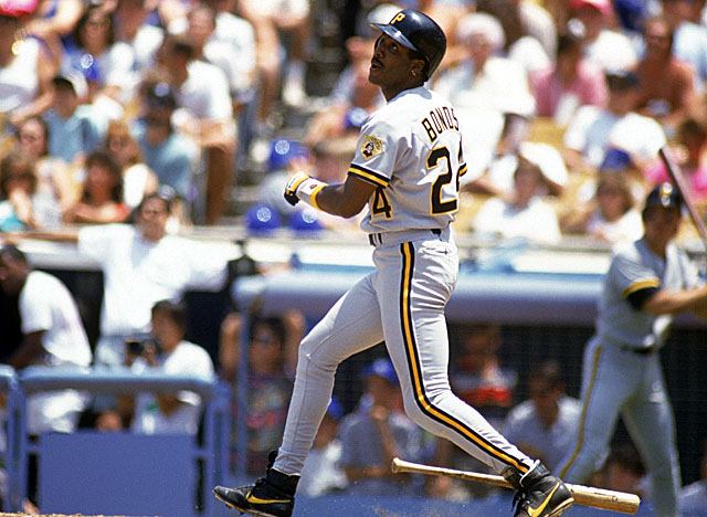Bonds' play in his last three seasons as a Pirate, 1990-92, earned him two of his seven MVPs. (Getty Images)