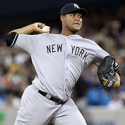 The Yanks' Ivan Nova allows two runs and five hits in 7 1/3 innings to beat the Blue Jays and end a five-start winless streak. (Getty Images)