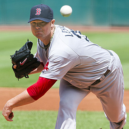 The Red Sox's Jon Lester records 12 strikeouts and defeats the Indians to earn his victory in six weeks.  (Getty Images)
