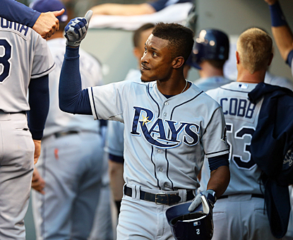 B.J. Upton drives in two runs with his homer against the M's to bring his total up to nine RBI in his last six games. (Getty Images)