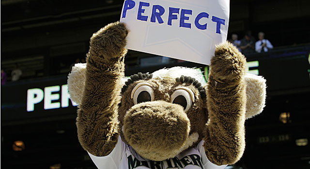 Of the 21 perfect games in MLB history, three (13 percent) of them have come in 2012. (Getty Images)
