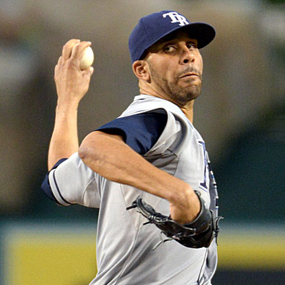 After his win vs. the Angels, the Rays' David Price leads baseball with 16 wins and stands third in the A.L. in ERA (2.39). (US Presswire)