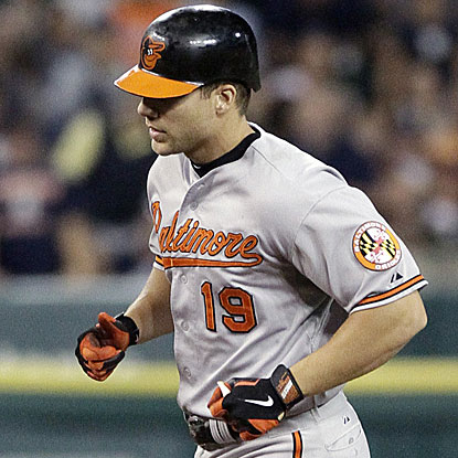 Chris Davis' three-run homer stands as the difference in the Orioles' victory over the Tigers. (AP)