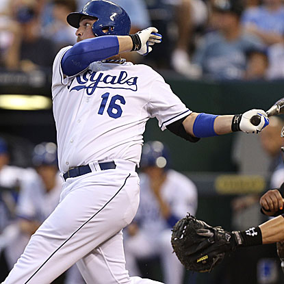 Billy Butler goes 3 for 4 with three RBI to help the Royals get past the White Sox.  (Getty Images)