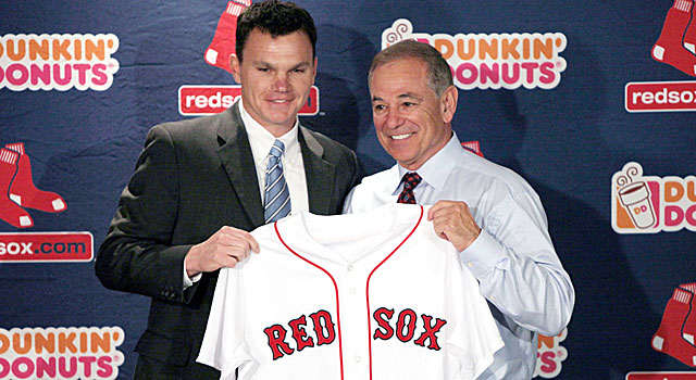 GM Ben Cherington has to shoulder some of the blame for the Red Sox's disappointing season. (US Presswire)