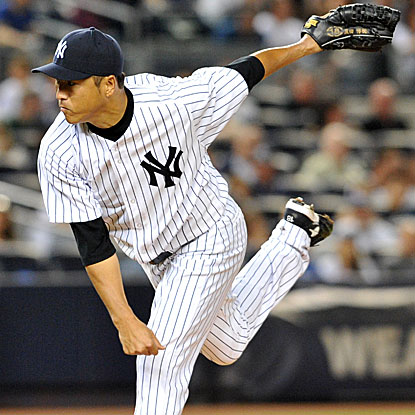 Hiroki Kuroda allows just a solo home run in eight strong innings of work as the Yankees beat the Red Sox. (Getty Images)