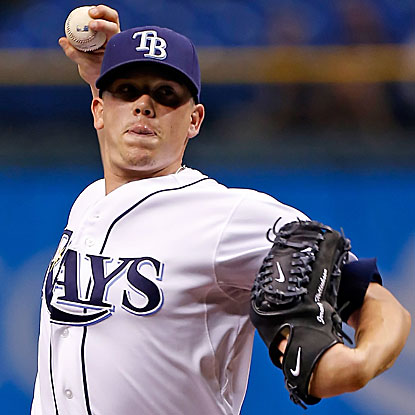 The Rays' Jeremy Hellickson defeats the Royals and snaps a run of seven straight home winless starts. (Getty Images)