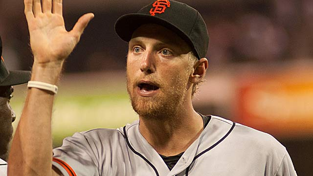 Hunter Pence: I hope the bobblehead serves as a 'lasting reminder' of my time in Philly. (Getty Images)