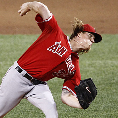 The Angels' Jered Weaver rebounds from the worst start of his career to throw seven strong innings and beat the Red Sox. (US Presswire)