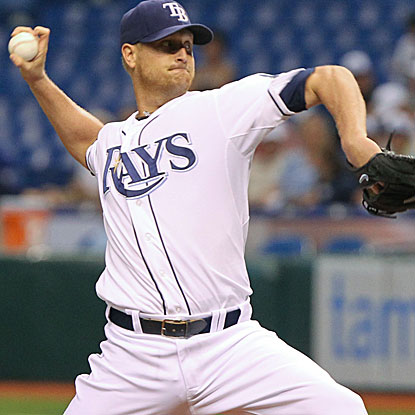 The Rays' Alex Cobb scatters four hits and strikes out eight to earn his first career shutout. (US Presswire)