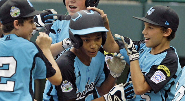 Lorenzo Butler sets a single-game record with nine RBI and ties the record for home runs with three. (AP)