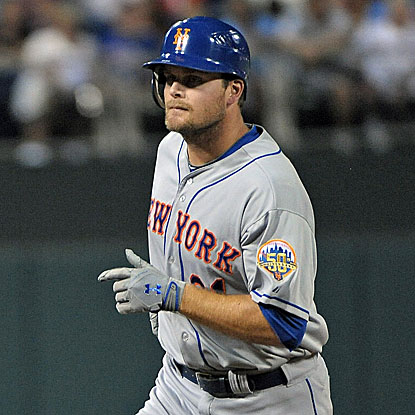 Lucas Duda's two-run homer helps the Mets win their fifth straight game against the Phillies in Philadelphia. (US Presswire)