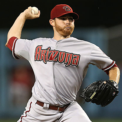 Ian Kennedy allows no runs in 6 1/3 innings to lift the Diamondbacks over the Dodgers for the seventh straight time. (Getty Images)