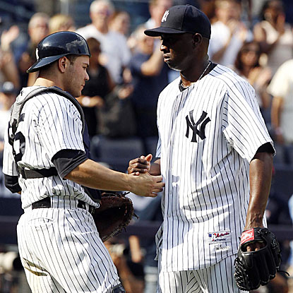 Rafael Soriano earns his 35th save as the Yankees snap the Orioles'  13-game winning streak in one-run games. (US Presswire)