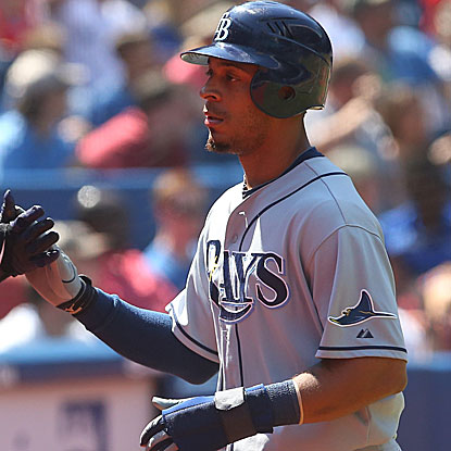 Desmond Jennings goes 3 for 4  to help the Rays win their second straight and salvage a series split with the Blue Jays. (Getty Images)