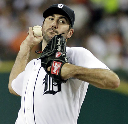 The Tigers ride the right arm of Justin Verlander, who helps Detroit beat Chicago for the seventh straight time at home. (AP)