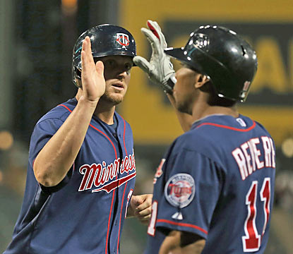 Chris Parmelee (4 RBI) is one of six Twins to drive in two or more runs against the White Sox. (Getty Images)