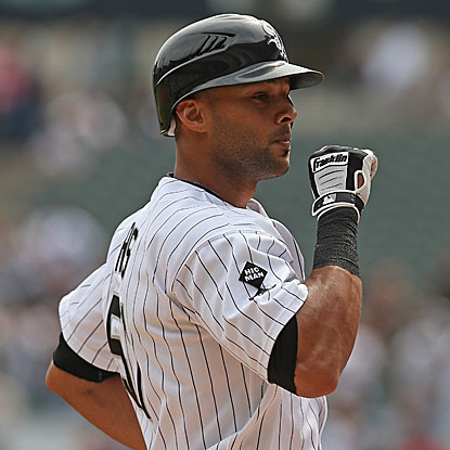 Alex Rios hits a grand slam and a two-run homer to drive in a career-high six runs in the White Sox's victory. (Getty Images)