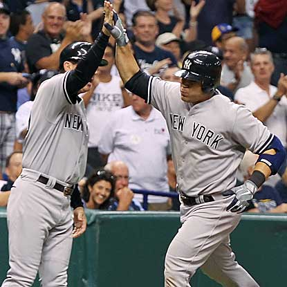 Russell Martin homers and collects three RBI as the Yankees defeat the Rays and regain sole possession of the AL East lead. (US Presswire)