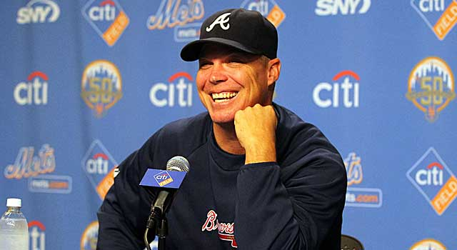 Chipper Jones has hit 19 home runs at Shea Stadium -- his most at any opposing park. (US Presswire)