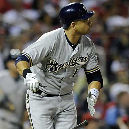 Aramis Ramirez goes 3 for 3 with a homer to help the Brewers win for the 15th time in their last 19 games. (AP)