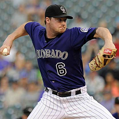 Starter Alex White allows one run in four innings and hits a home run in the Rockies' victory over the Giants. (Getty Images)