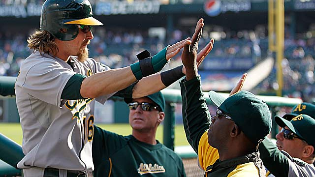 Josh Reddick says 'we have to live in the moment, and play like there's no tomorrow.' (Getty Images)