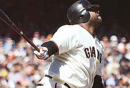Pablo Sandoval homers from both sides as the Giants reduce their magic number to clinch the division to four games. (Getty Images)