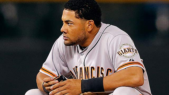 Melky Cabrera was batting .346 -- still tops in NL -- before being suspended 50 games on Aug. 15. (Getty Images)