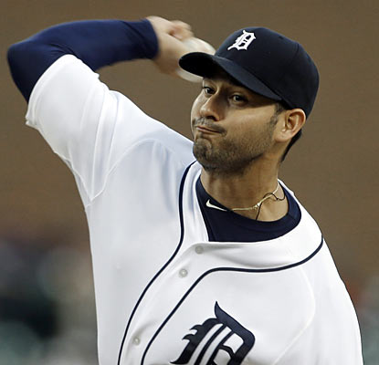Anibal Sanchez throws a masterful shutout against the Royals as he strikes out 10 while yielding just three hits. (AP)