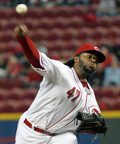 Johnny Cueto picks up his 19th win on the season while the Reds maintain their hold of the best record in the NL. (AP)