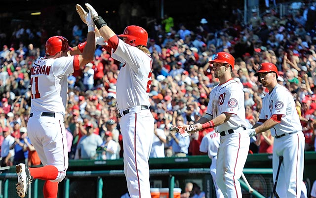 The Nationals' rapid development into a contender this season has been a pleasant surprise. (Getty Images)