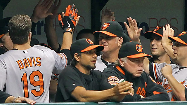 The Orioles have done a tremendous job rallying behind Buck Showalter's leadership in 2012. (US Presswire)
