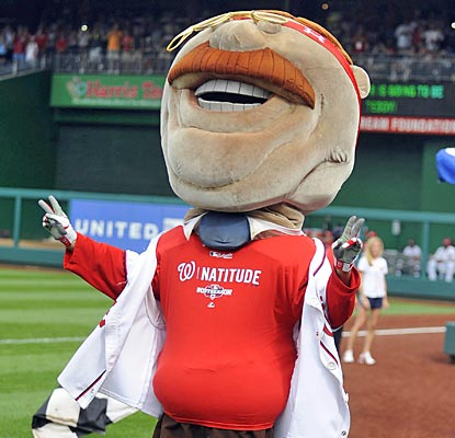 Teddy's Nats can rewrite Washington baseball lore -- first in war, first in peace, first in the National League.  (US Presswire)