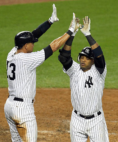 A-Rod, Robinson Cano and the Bronx Bombers leave nothing to chance in game No. 162 on the season by routing the BoSox. (US Presswire)