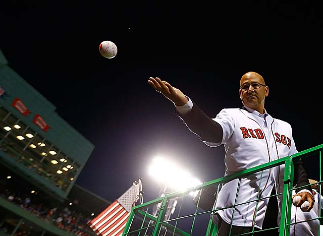 Francona, who led the Red Sox to two World Series wins, hopes to manage next in Cleveland. (Getty Images)