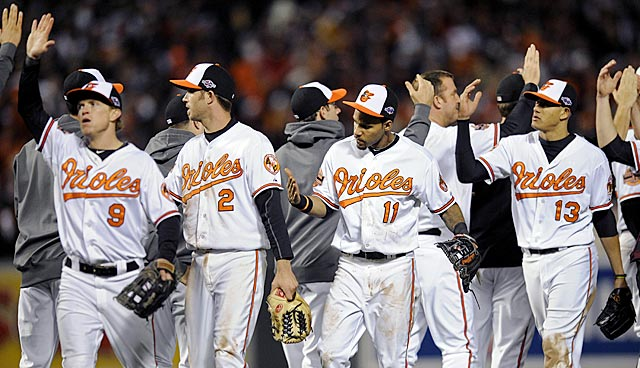 Not much in the way of rings or star power here, but these Orioles have learned how to win. (AP)