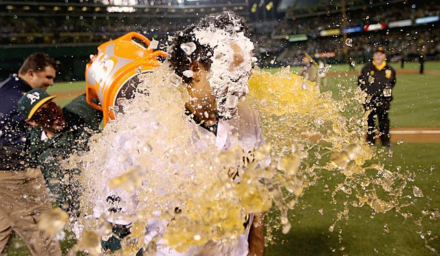 Coco Crisp's heroics and the Athletics' remarkable season have been refreshing, to say the least. (Getty Images)