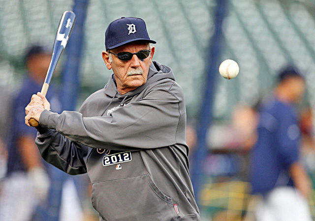 Jim Leyland tells his players to not lose focus during rain delays because opponents tend to relax. (US Presswire)