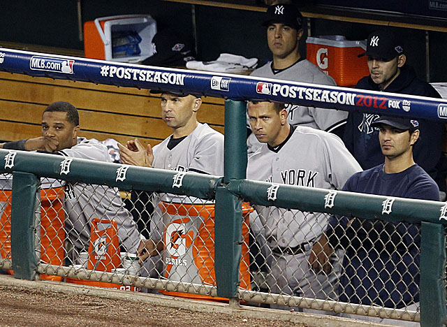 Will another team want A-Rod, 37, on its roster after he was benched in the Yankees' ALCS loss? (US Presswire)