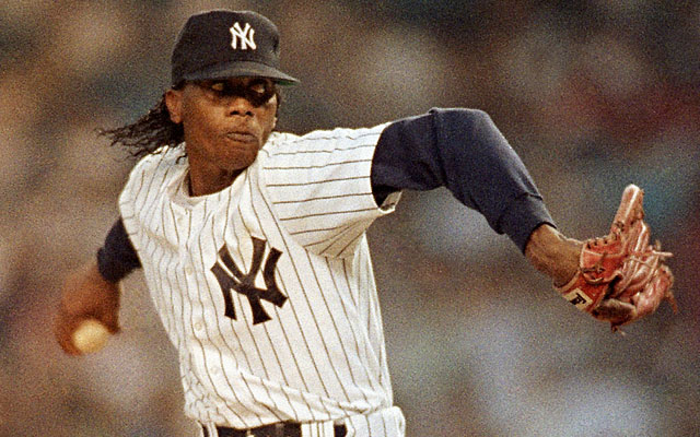 Pascual Perez finished his 11-year major-league career in 1991 with the Yankees. (AP)