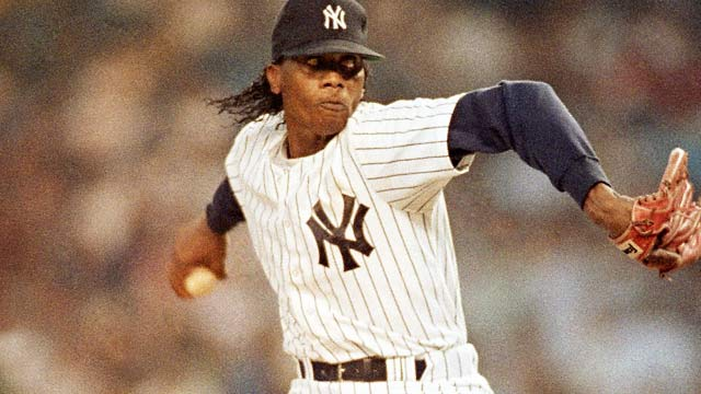 Pascual Perez last played for the Yankees in 1991, finishing an 11-year major-league career at 67-68. (AP)