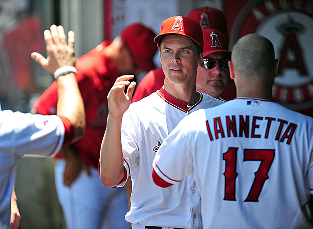 After dealing Ervin Santana and cutting loose Dan Haren, the Halos focus is on re-signing Greinke. (US Presswire)